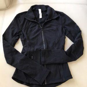 Black Lululemon forme jacket 2 xs full zip